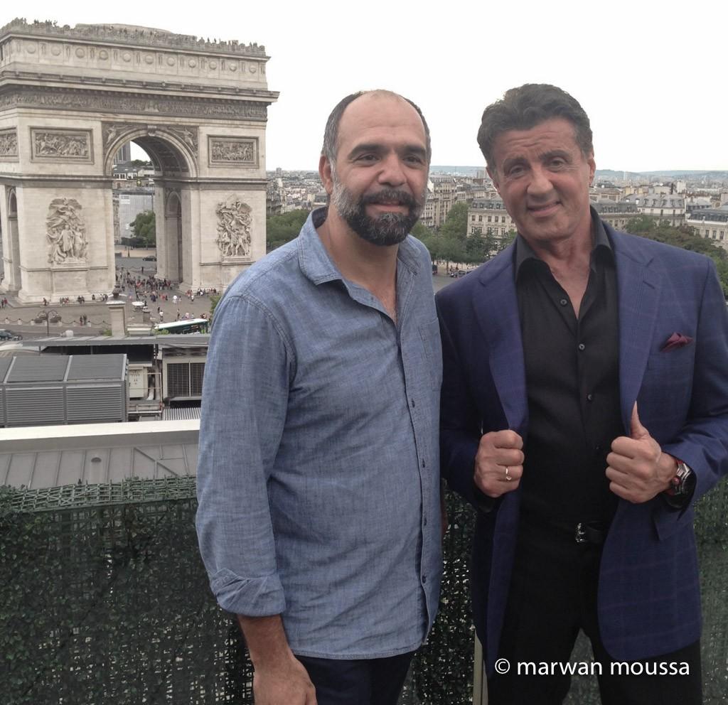 HHAIR Mariomarwan pour Sylvester Stallone