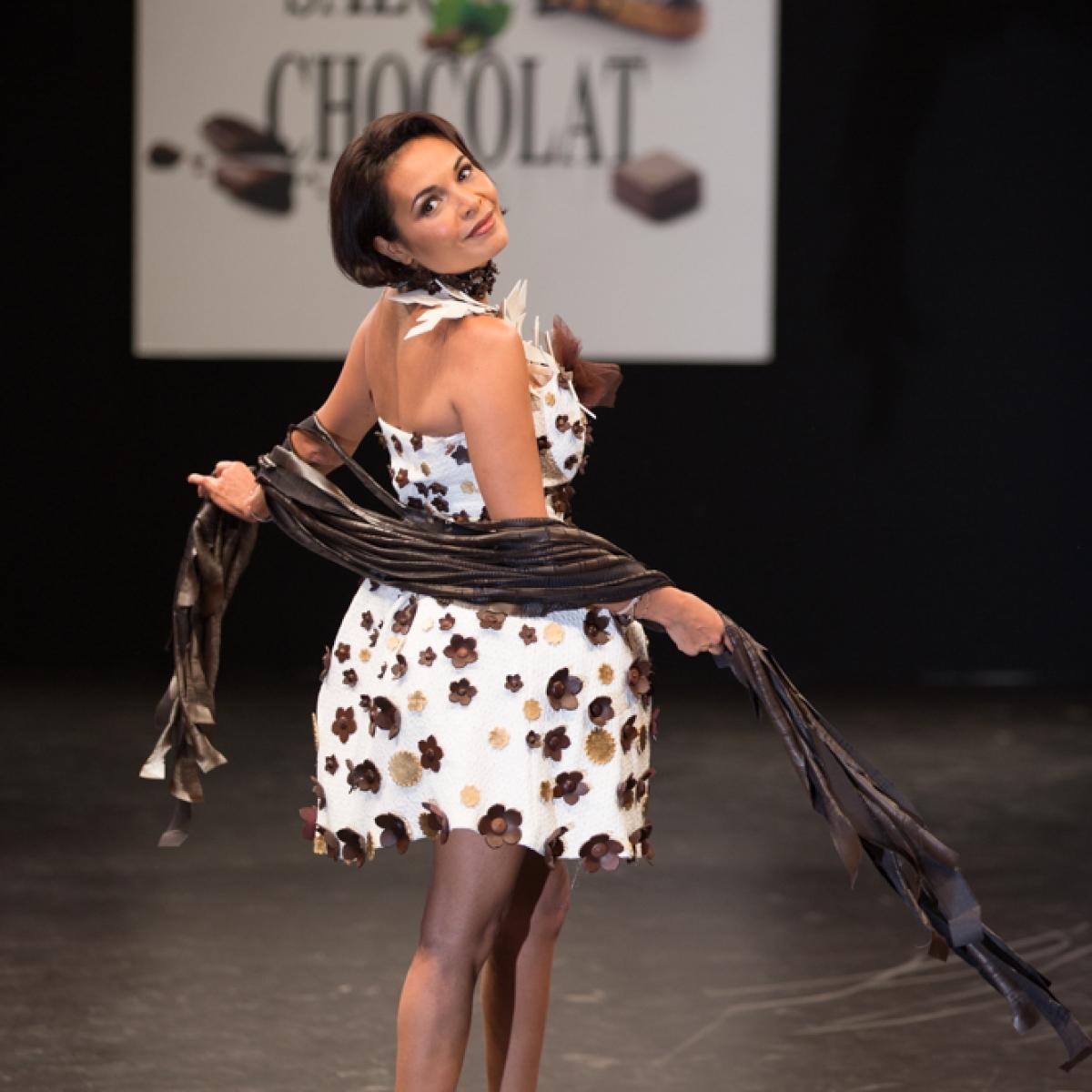 Saïda Jawad du salon du chocolat marwan moussa