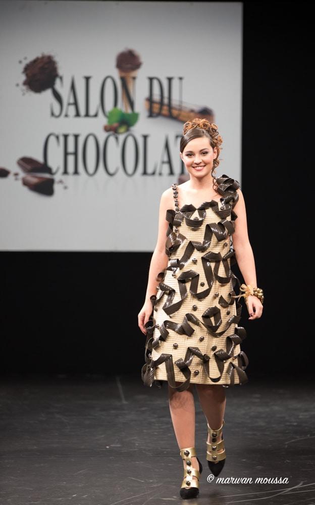 Tiphaine Haas du salon du chocolat marwan moussa