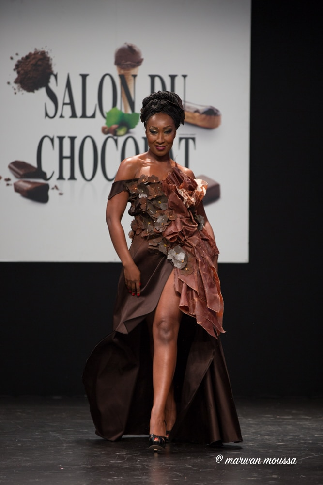 Nadège Beausson du salon du chocolat marwan moussa