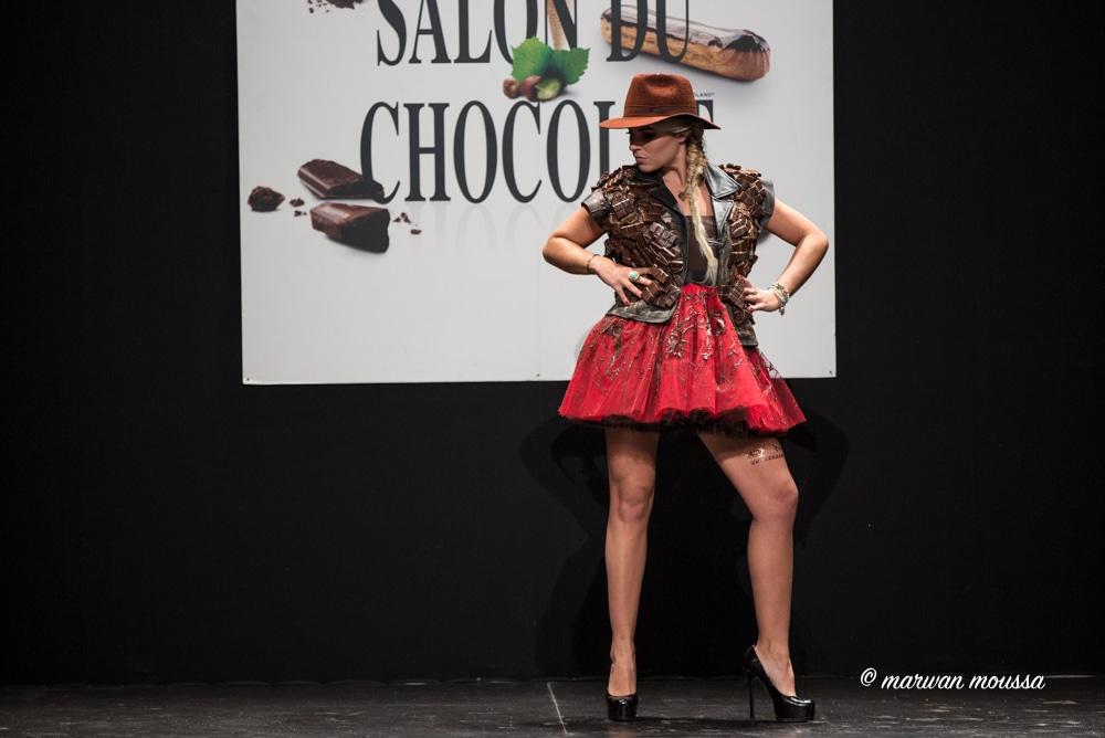 Sophie Tapie du salon du chocolat marwan moussa
