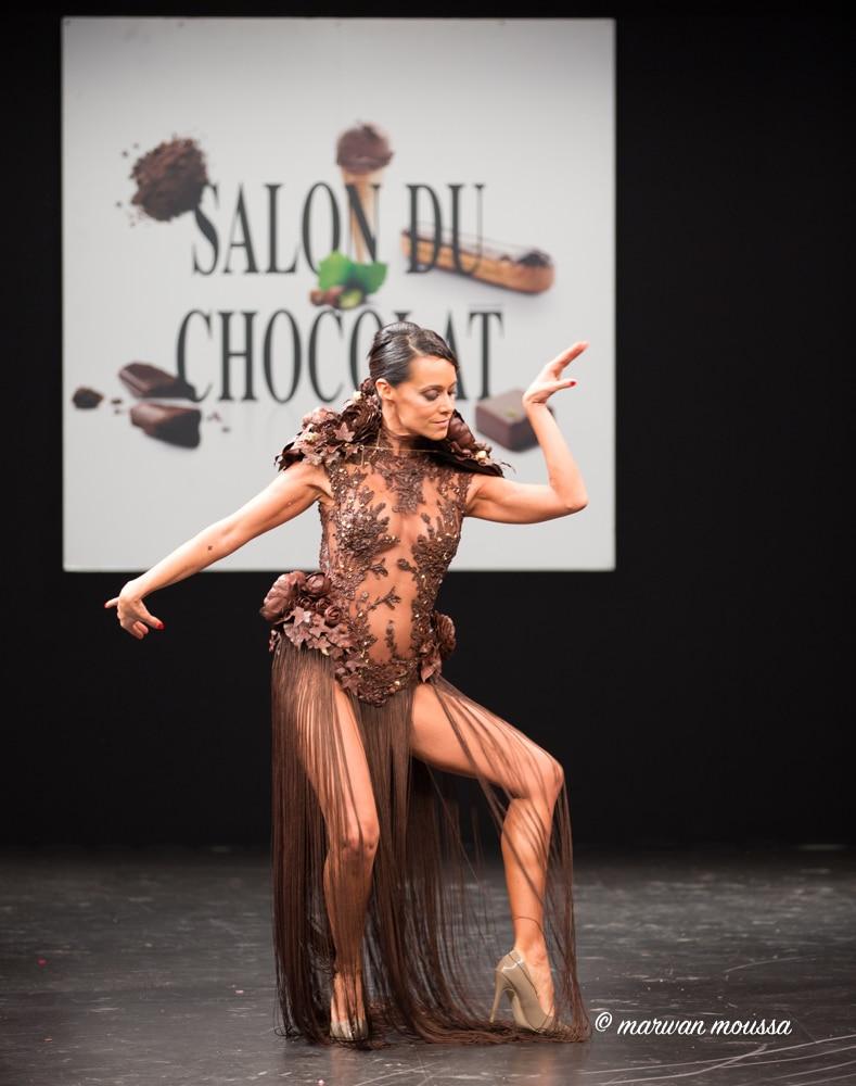 Karine Lima du salon du chocolat marwan moussa