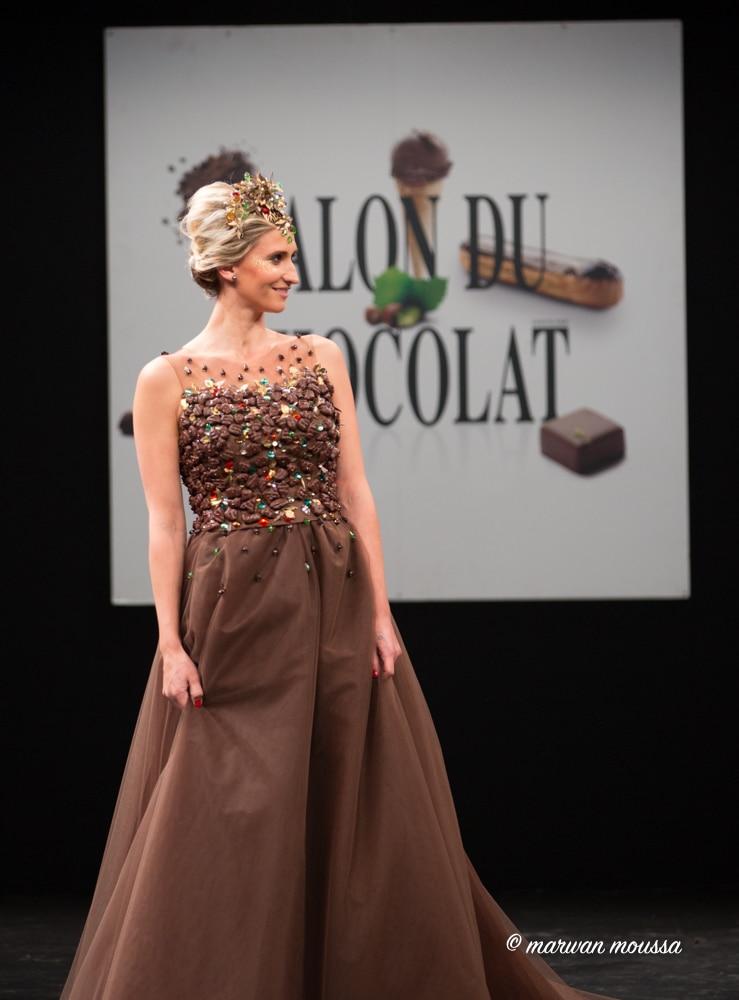 Tatiana Golovin du salon du chocolat marwan moussa