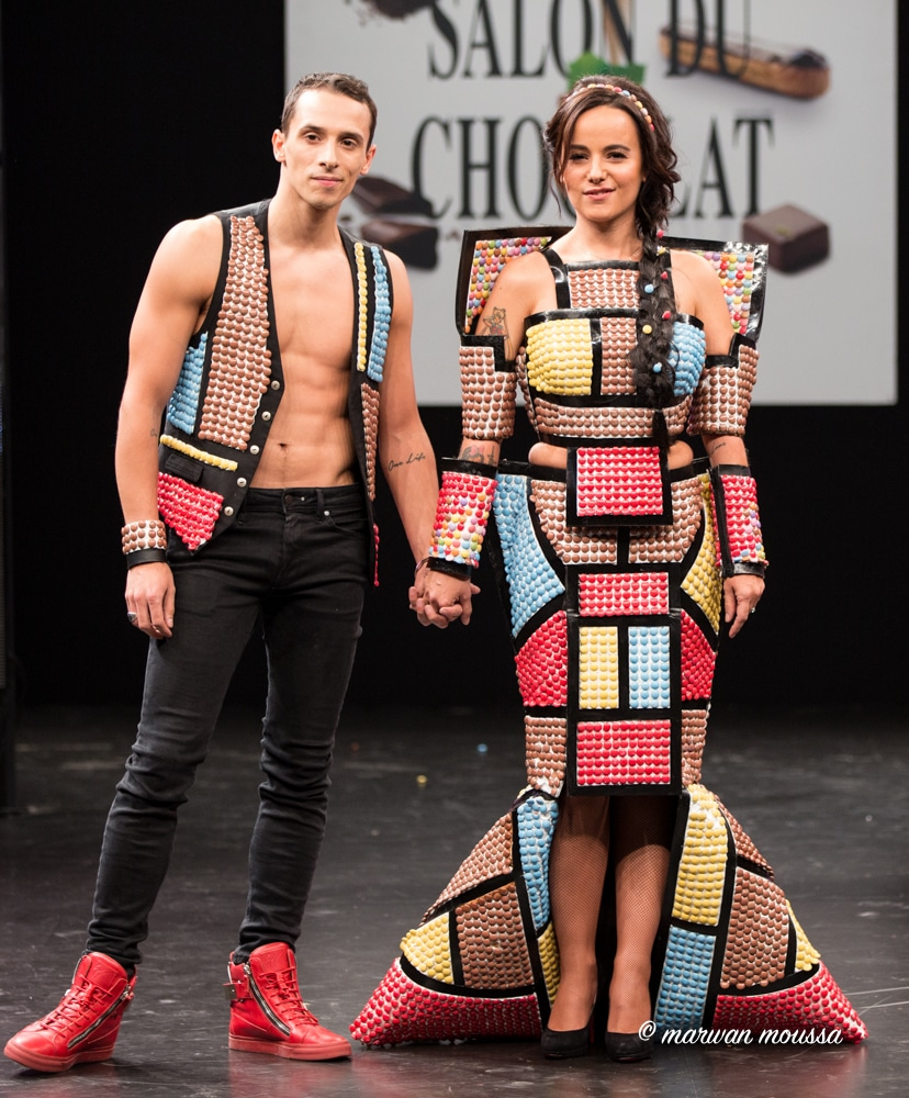 Alizée et Grégoire Lyonnet du chocolat marwan moussa