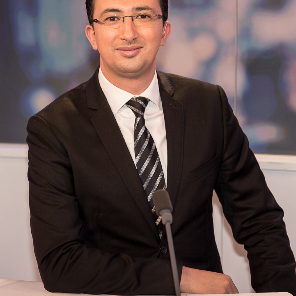 Rafik Rahali , photo , marwan moussa, france 24, مروان موسى