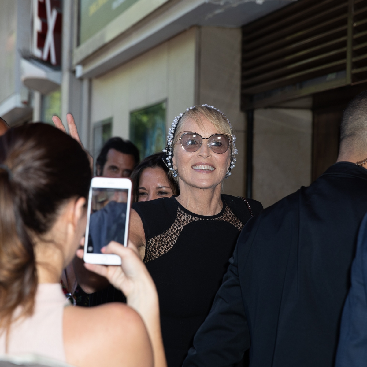 Sharon Stone - Projection du documentaire an undeniable voice lors du Paris Art and Movie Awards ,PAMA au Grand Rex à Paris Crédit photo: © MARWAN MOUSSA / 2018